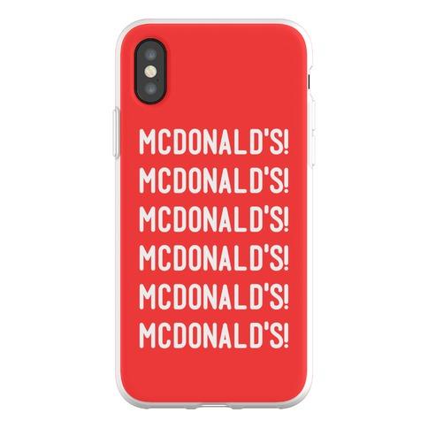 McDonald's McDonald's McDonald's Phone Flexi-Case