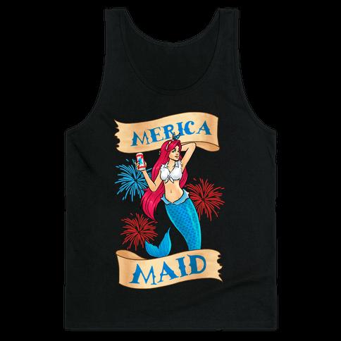 Merica Maid Tank Top