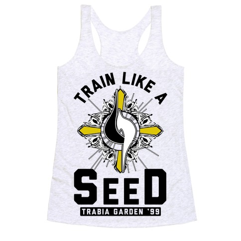 Train Like a SeeD Trabia Racerback Tank Top