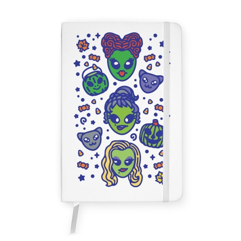 Witch Alien Sisters Parody Notebook