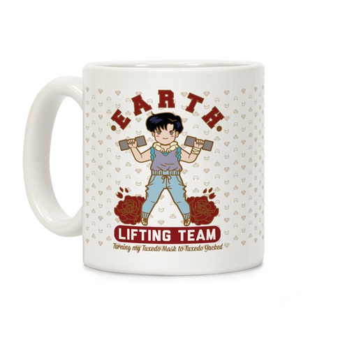 Earth Lifting Team Parody Coffee Mug