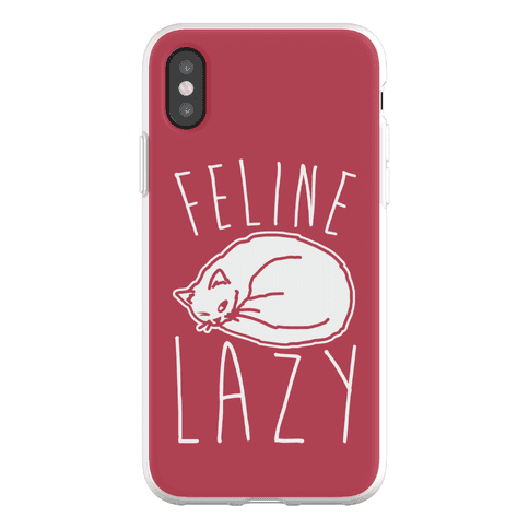 Feline Lazy Phone Flexi-Case