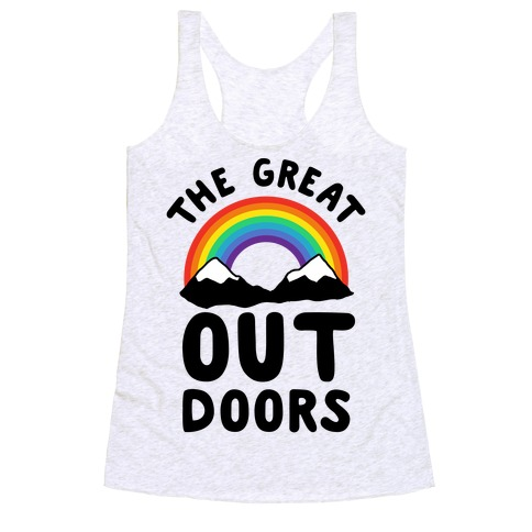 The Great OUT Doors Racerback Tank Top