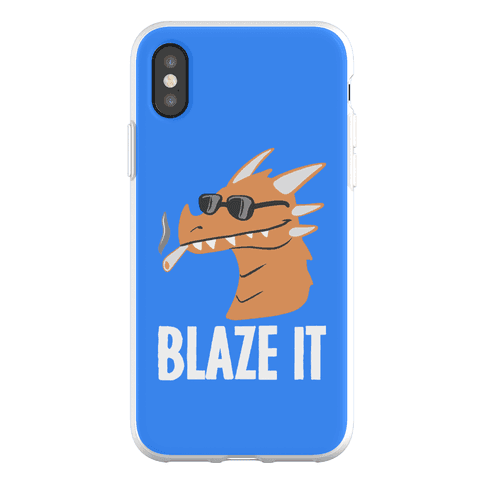 Blaze It Dragon Phone Flexi-Case