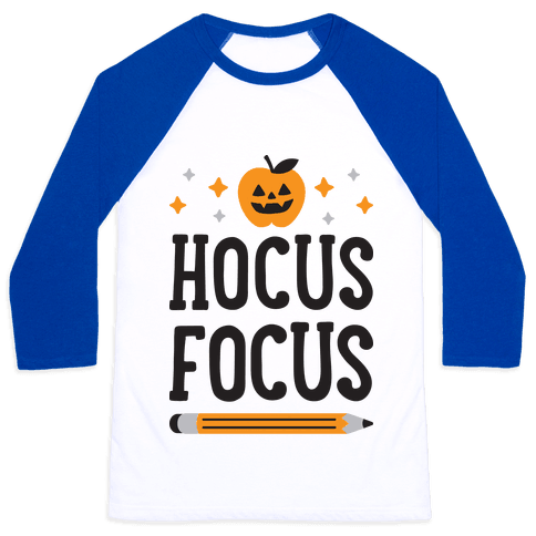 Hocus Focus Baseball Tee