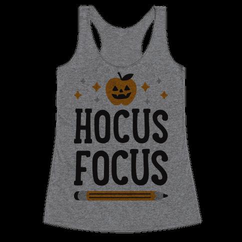 Hocus Focus Racerback Tank Top