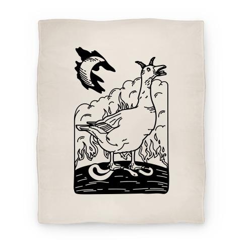 The Devil (Goose Parody) Blanket