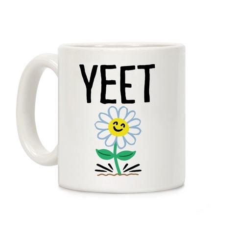 Yeet Flower Parody Coffee Mug