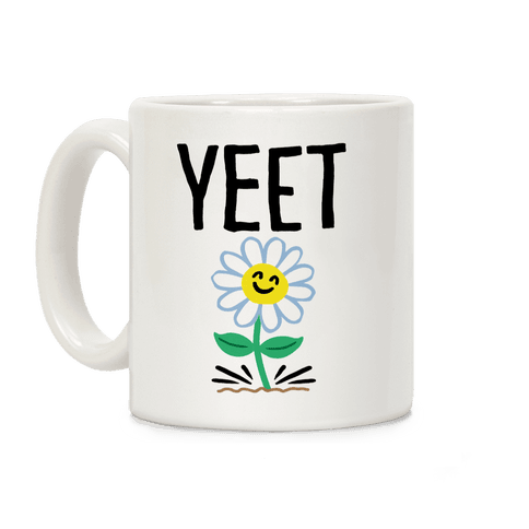 Yeet Flower Parody Coffee Mug