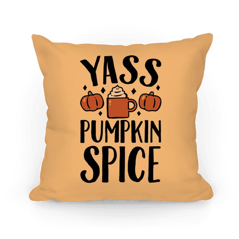 Yass Pumpkin Spice Pillow