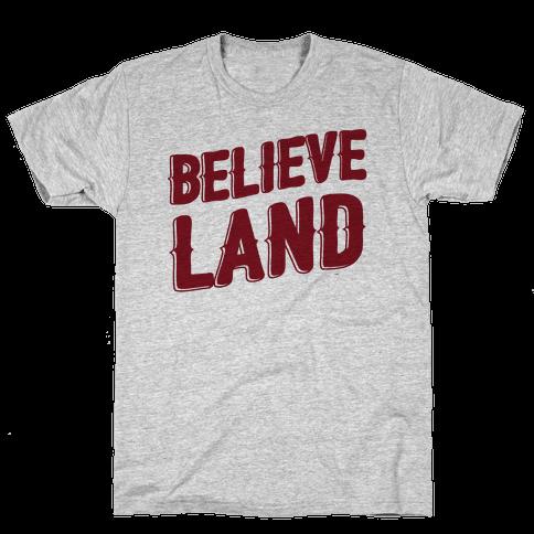 Believeland (cmyk) Mens T-Shirt