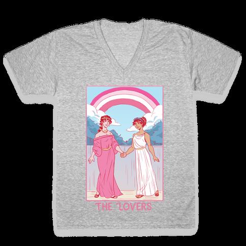 The Lovers - Sappho V-Neck Tee Shirt