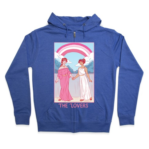 The Lovers - Sappho Zip Hoodie