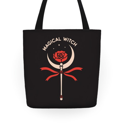 Magical Witch Wand Tote