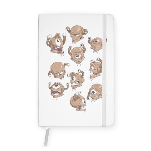 Beholder Expression Study Notebook