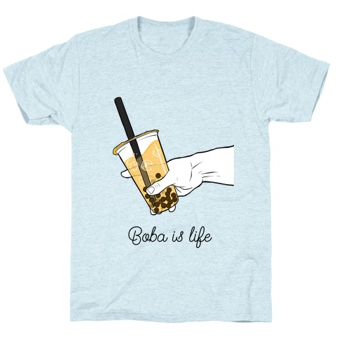 Boba is Life Couples edition (Right Side) T-Shirt