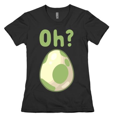Oh? Egg Hatching Womens T-Shirt