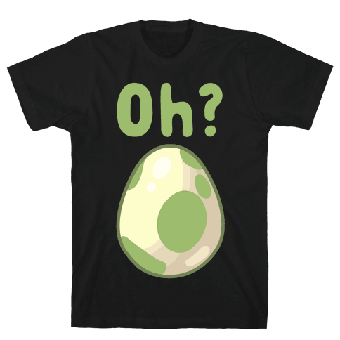 Oh? Egg Hatching Mens T-Shirt
