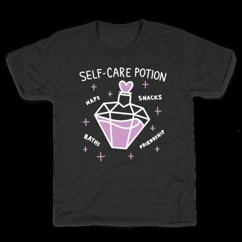 Self-Care Potion Kids T-Shirt