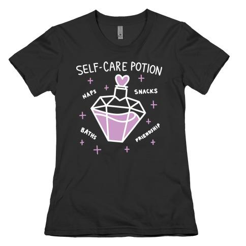 Self-Care Potion Womens T-Shirt