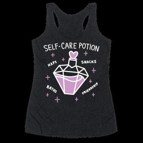 Self-Care Potion Racerback Tank Top