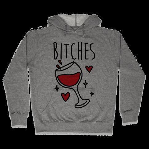 Classy Bitches 2 (cmyk) Hooded Sweatshirt