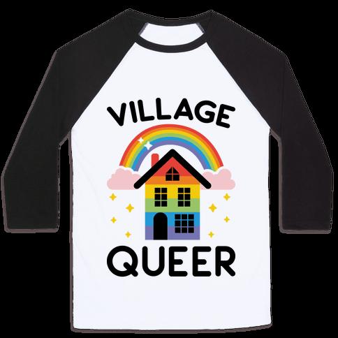 Village Queer Baseball Tee