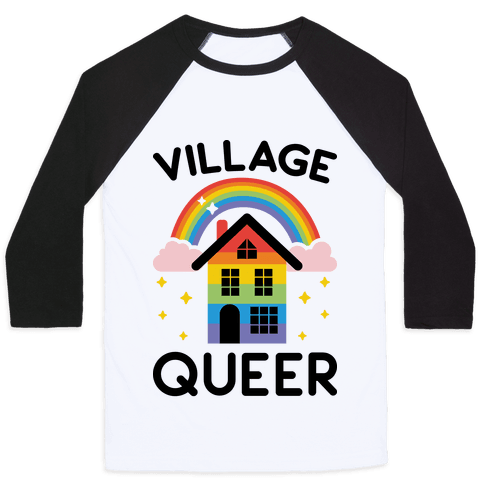 Village Queer Baseball Tee