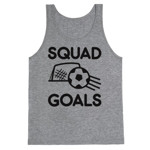 Squad Goals Soccer Tank Top