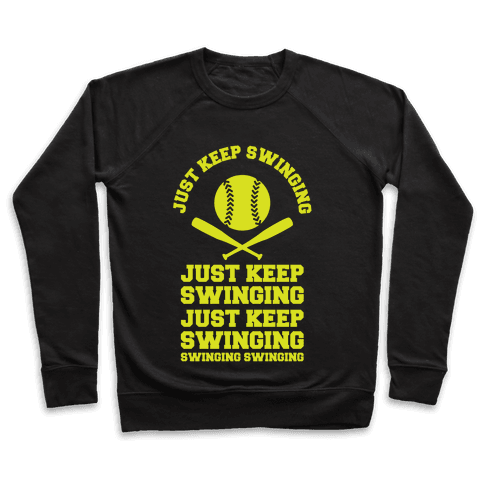 Just Keep Swinging Pullover