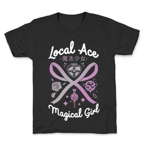 Local Ace Magical Girl Kids T-Shirt