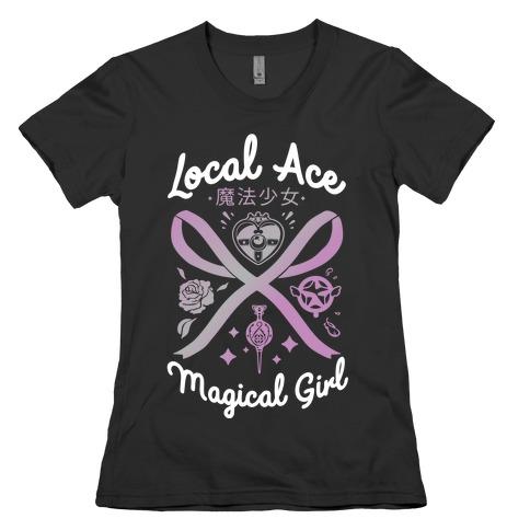 Local Ace Magical Girl Womens T-Shirt