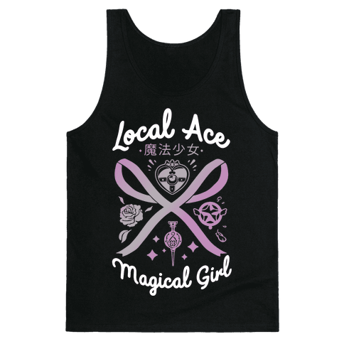 Local Ace Magical Girl Tank Top