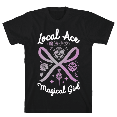 Local Ace Magical Girl Mens/Unisex T-Shirt