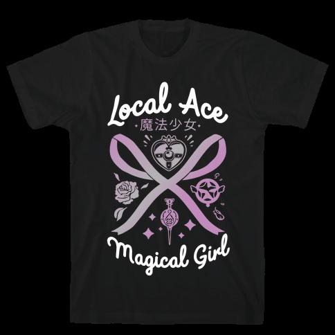 Local Ace Magical Girl Mens/Unisex T-Shirt