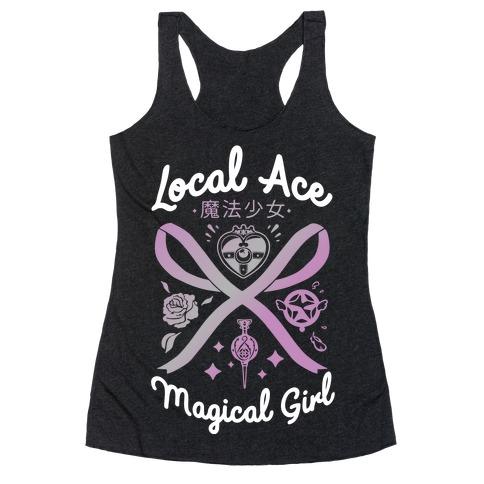 Local Ace Magical Girl Racerback Tank Top