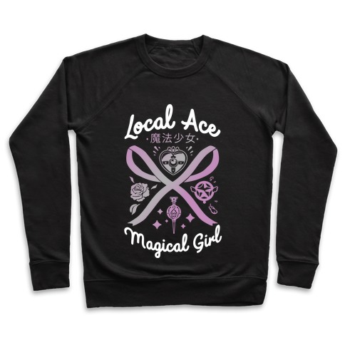 Local Ace Magical Girl Pullover
