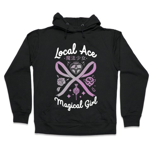 Local Ace Magical Girl Hooded Sweatshirt