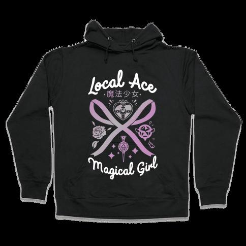 Local Ace Magical Girl Hooded Sweatshirt