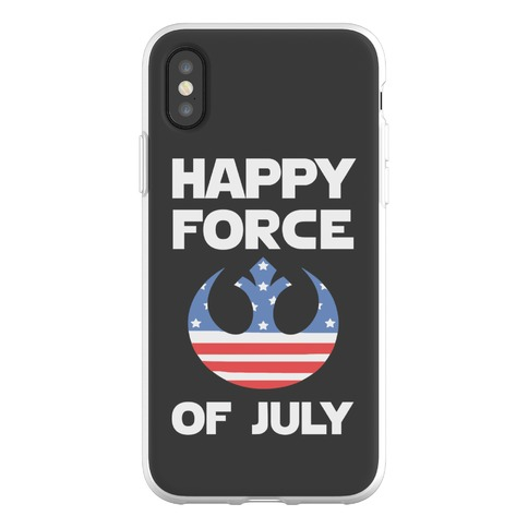 Happy Force Of July Phone Flexi-Case