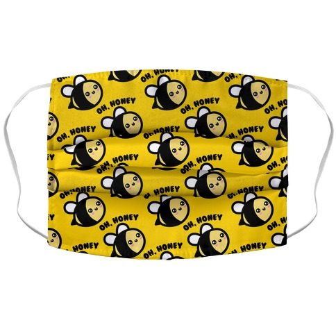 Oh Honey Bee Parody Accordion Face Mask