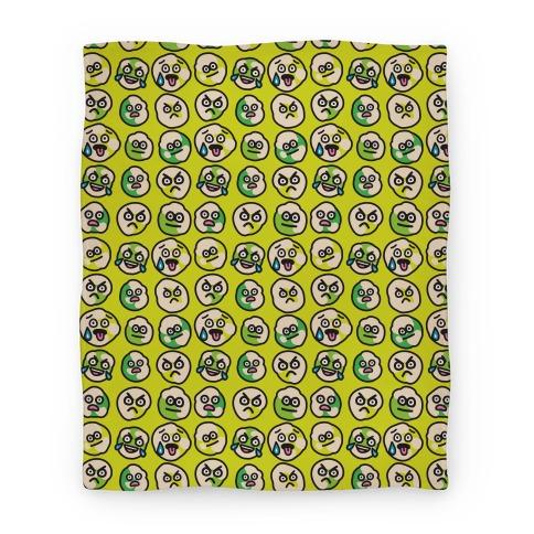 Wasabi Peas Pattern Blanket
