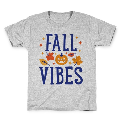 Fall Vibes Kids T-Shirt