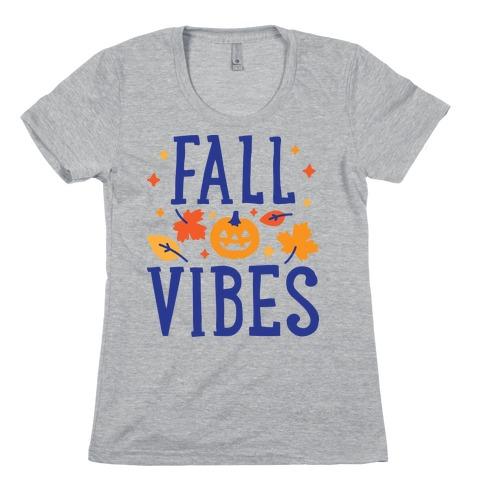 Fall Vibes Womens T-Shirt