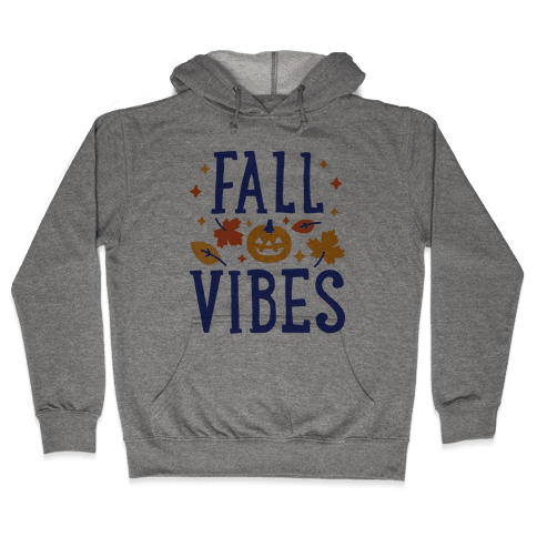Fall Vibes Hooded Sweatshirt
