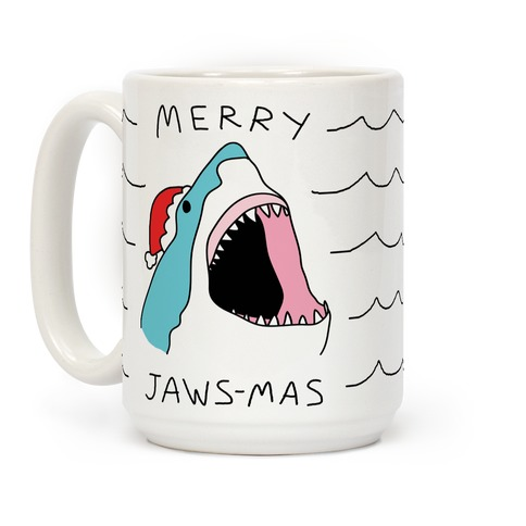 Merry Jaws-mas Christmas Coffee Mug