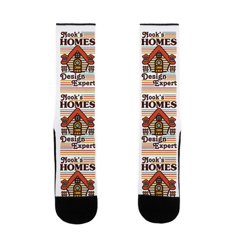 Nook's Homes Design Expert Sock