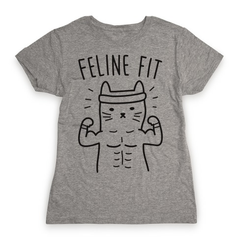 Feline Fit Womens T-Shirt