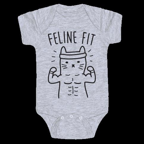 Feline Fit Baby Onesy