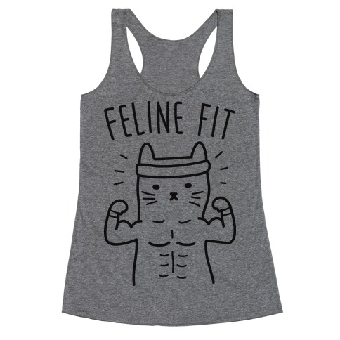 Feline Fit Racerback Tank Top